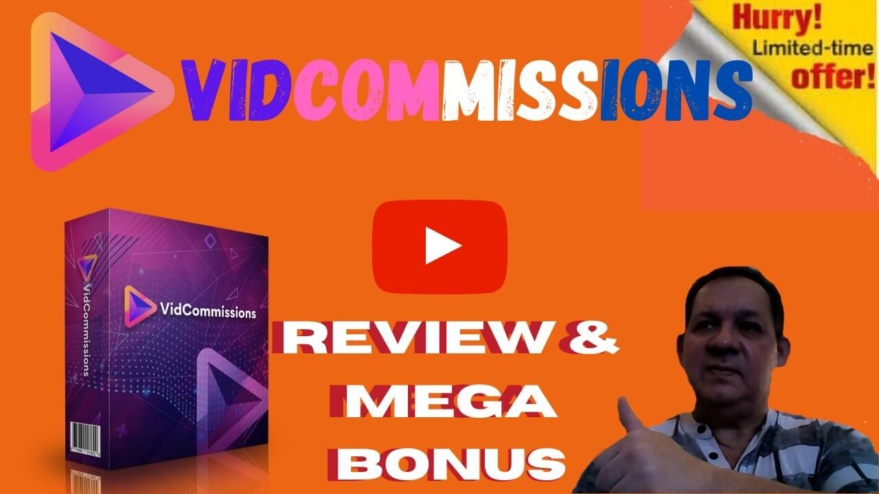 VidCommissions Review | Mega Bonus | Demo