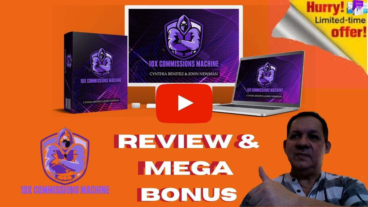 10X Commissions Machine Review & Bonuses