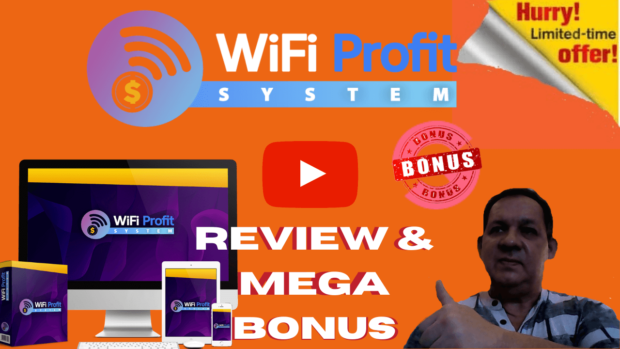 WiFi Profit System Review Bonuses Galore!