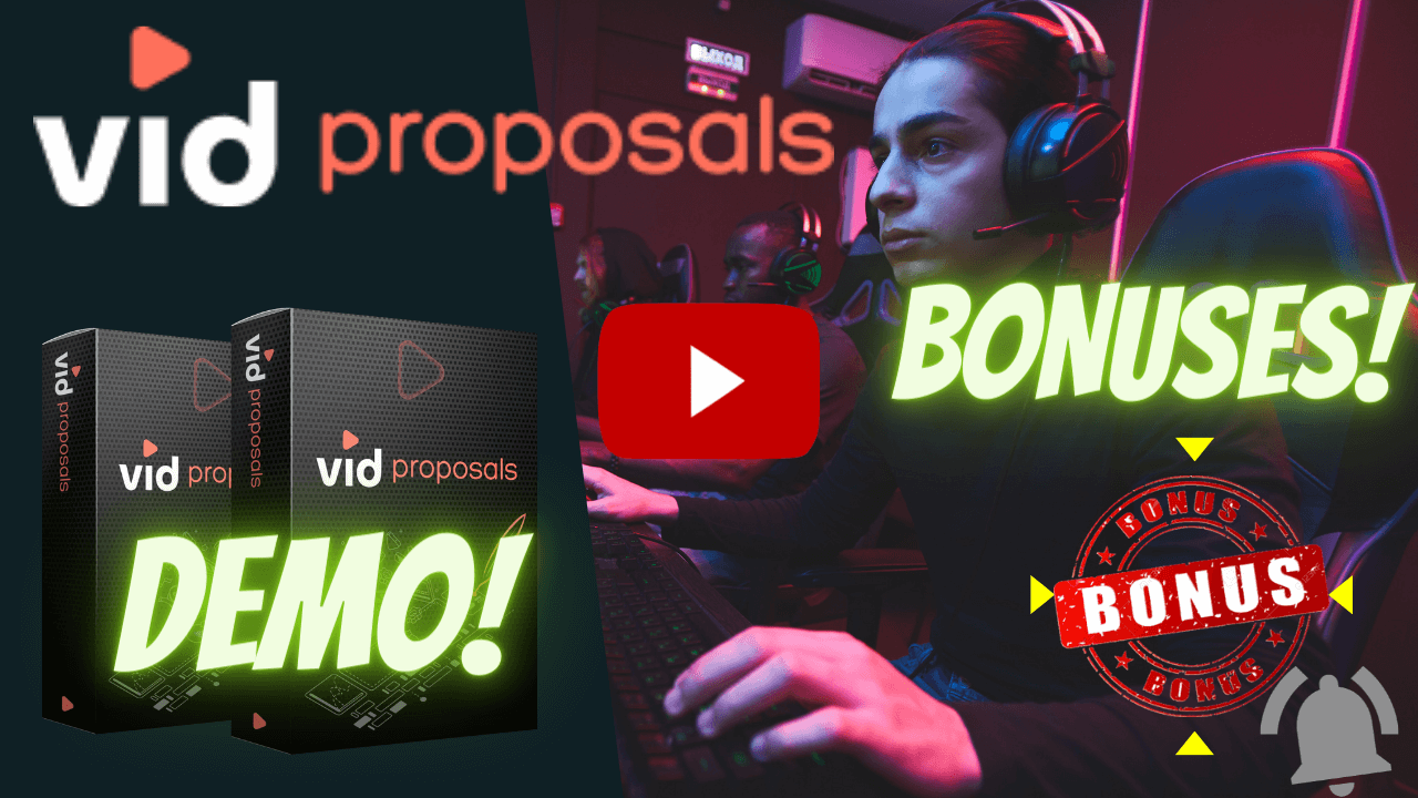 VidProposals Review |Bonus | Lead Gen App